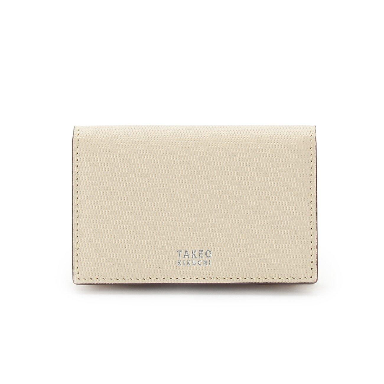 (タケオキクチ) TAKEO KIKUCHI ミニメッシュ名刺カードケース 07001522 B072M3KPYD アイボリー(503) アイボリー(503)