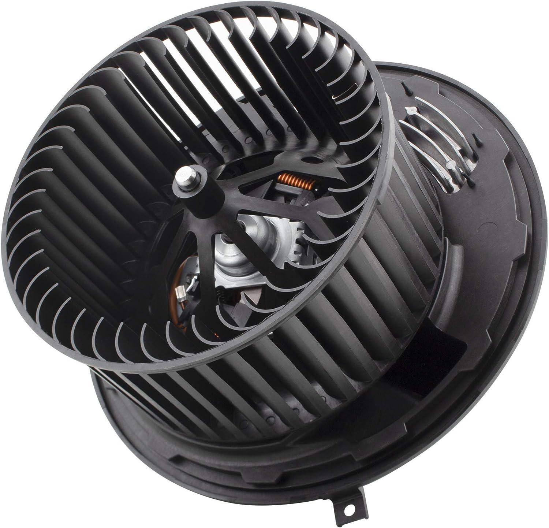MYSMOT Blower Motor Fan Assembly with regulater for BMW E90 F25 E89 1 3 Series 64119227670 64119144200 64116933663 8EW351104791