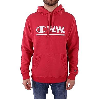 CHAMPION X WOOD WOOD Hombre 211878RS043TMP Rojo Algodon Sudadera: Amazon.es: Ropa y accesorios