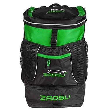 Bañador de triatlón & mochila de natación - transition Bag 45 Liter Verde verde