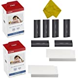 Canon KP-108IN 3 Color Ink Cassette and 216 Sheets 4 x 6 Paper Glossy For SELPHY CP1300, CP1200, CP910, CP900, CP760…