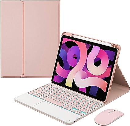HaoHZ Funda Teclado para iPad Air 4 Gen 10,9 2020 - Teclado ...