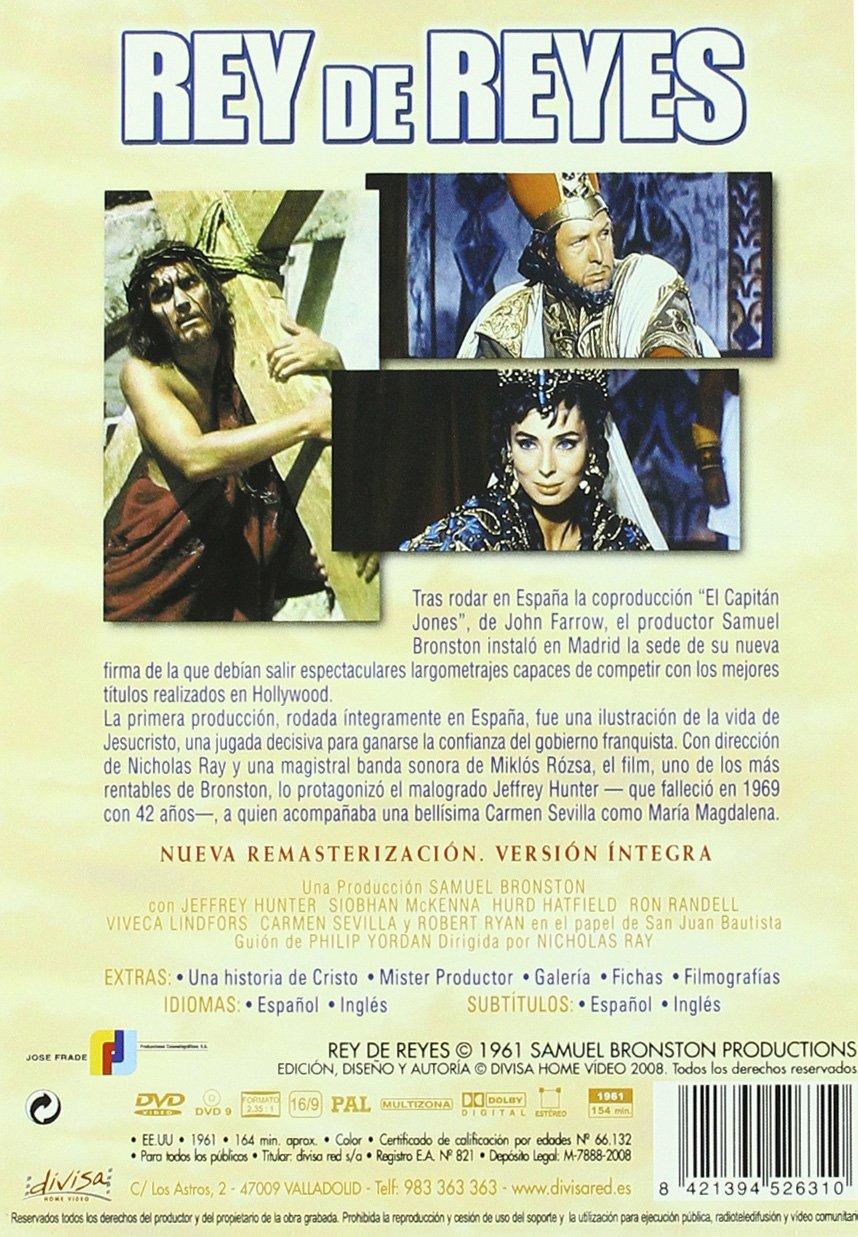 Rey de reyes [DVD]: Amazon.es: JEFREY HUNTER, ROBERT RYAN ...