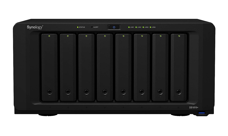Synology DiskStation DS1819+ Servidor de Almacenamiento - Unidad Raid: Synology: Amazon.es: Informática