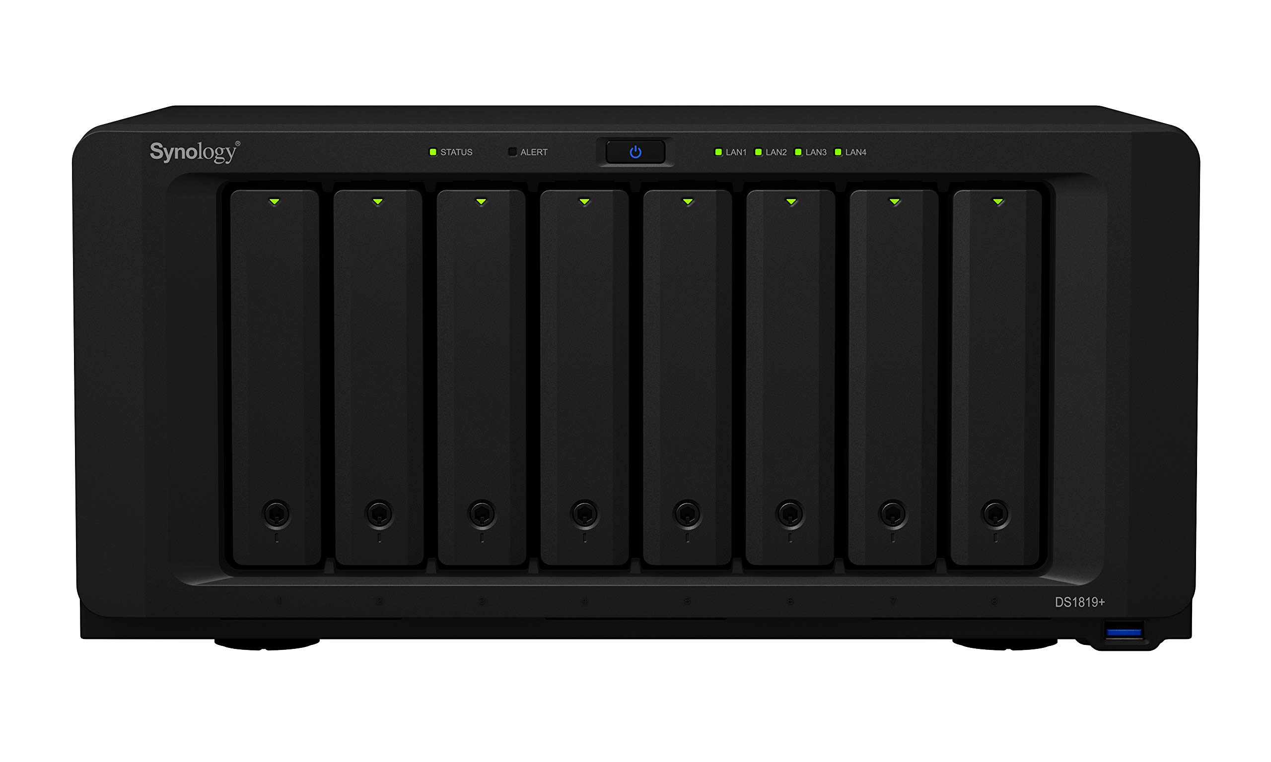 Synology 8 Bay NAS Diskstation (Diskless) (DS1819+) by Synology (Image #2)
