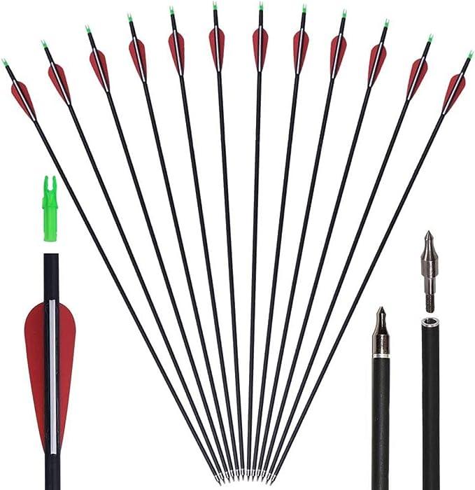 Best Archery Arrows: GPP Archery Carbon 30-Inch Targeting/Hunting Arrows
