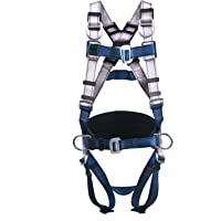 JINGYAT 5 D-Ring Full Body Safety Harness Fall Protection,Universal Personal Protective Equipment (130-400 pound),Construction Industrial Tower Roofing Tool
