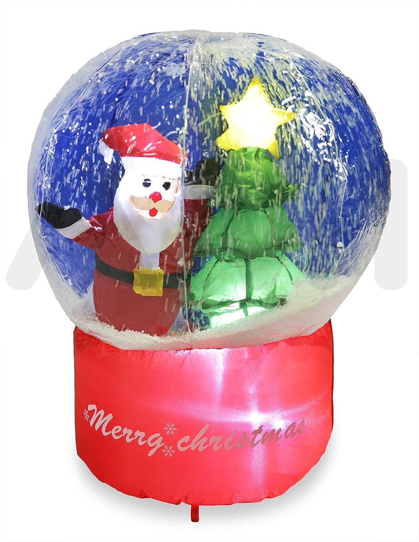 2 ft/0.6 m/60 cm hinchable - Bola de nieve decoración de ...