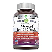 Amazing Formulas Advanced Joint Formula 120 Caplets (Non-GMO,Gluten Free) - Proprietary...