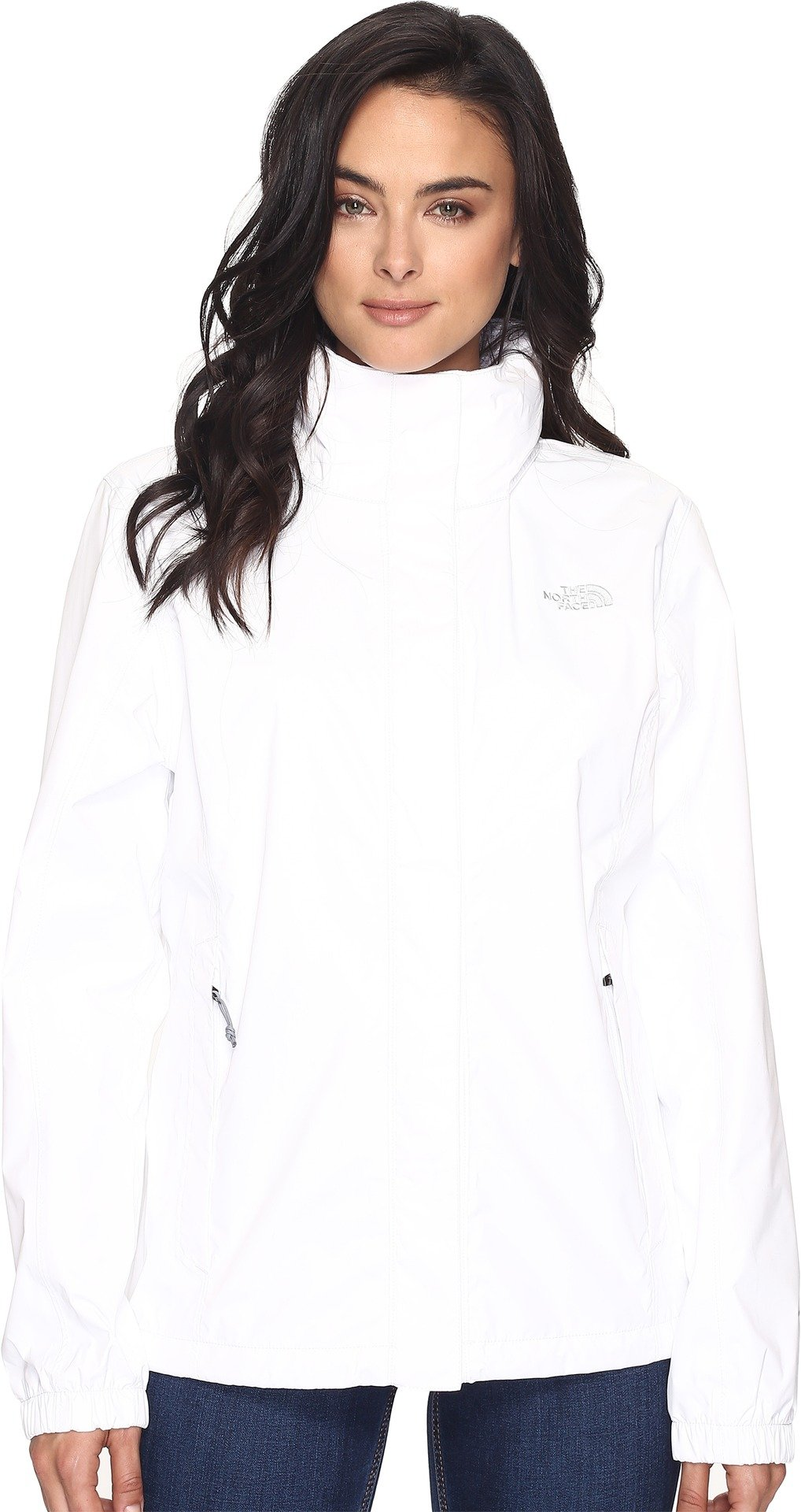 Womens Resolve Jacket Style: TNF White Size: L
