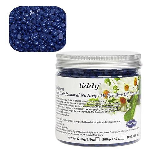 Depilatory Wax Bean Inkach 500g Hair Removal Hard Wax Beans Depilatory for Men Women Bikini Hair Removal Beans