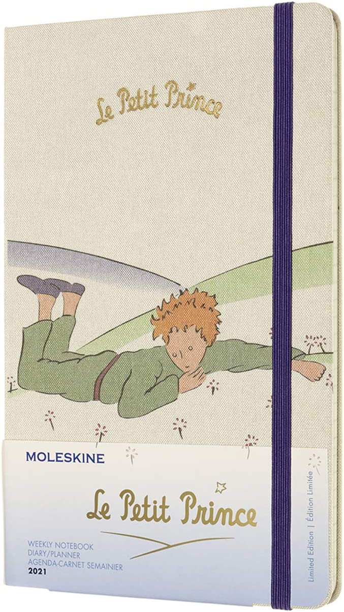 Agenda Moleskine 2021 el principito tapa dura