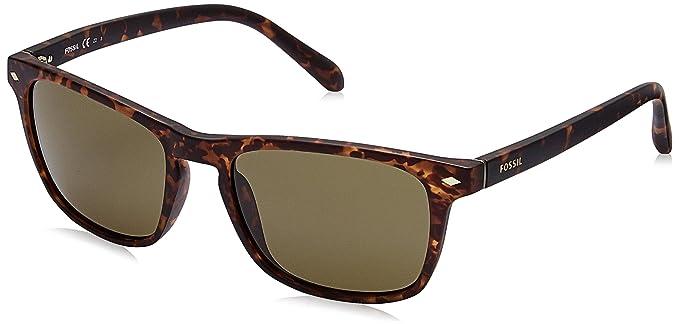 f10ed7fb7e Amazon.com  Fossil Men s Fos 3017 s Rectangular Sunglasses MATT HVNA ...