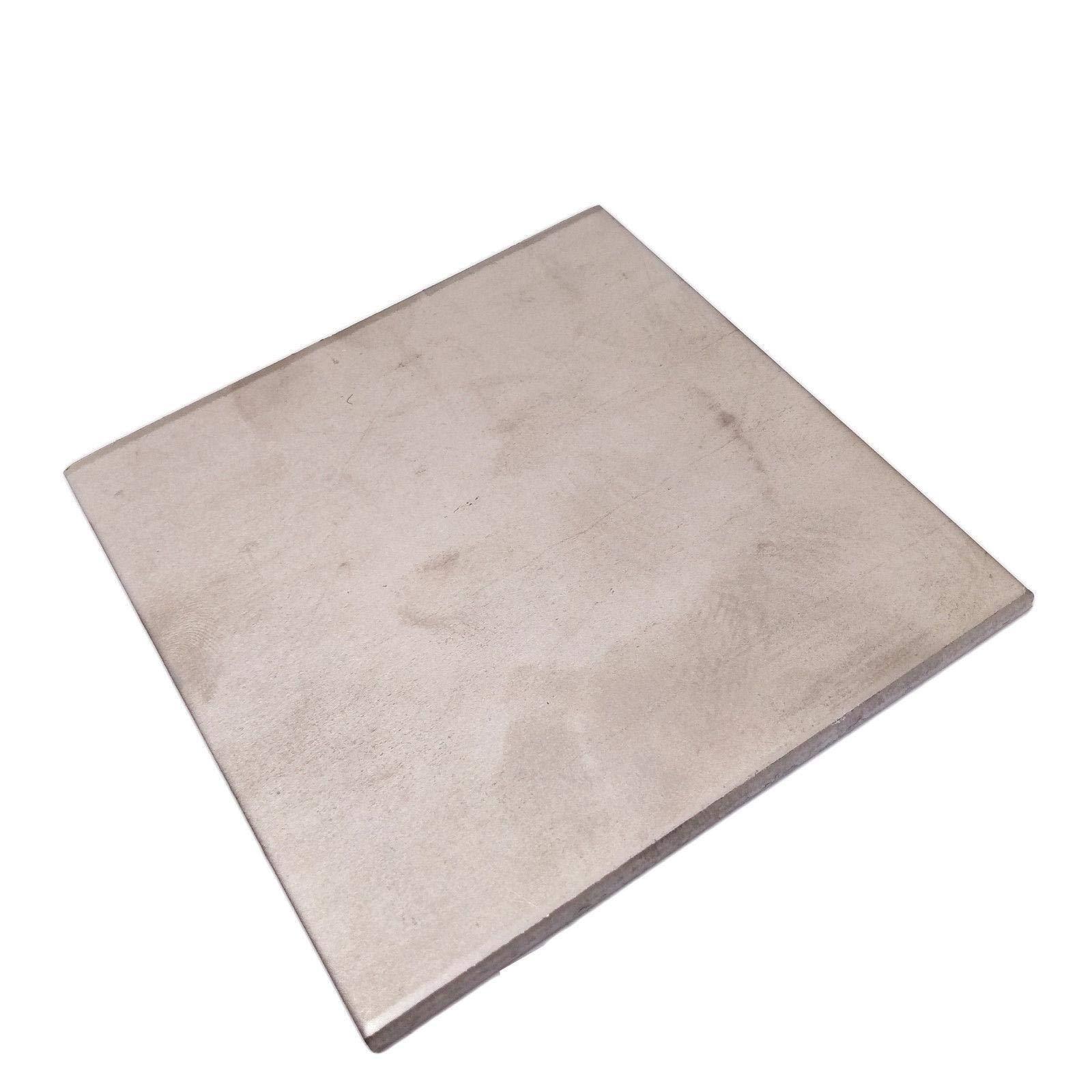 4mm x 100mm x 100mm Titanium Plate Ti Titan TC4 Gr5 Plate Sheet Foil by Yodaoke