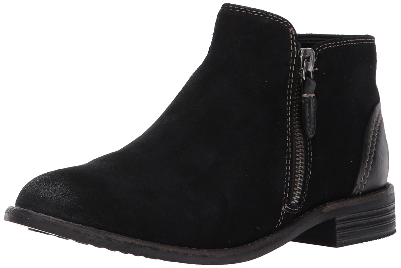 CLARKS Women's Maypearl Juno Ankle Bootie B01MT1EAB3 5 M US|Black