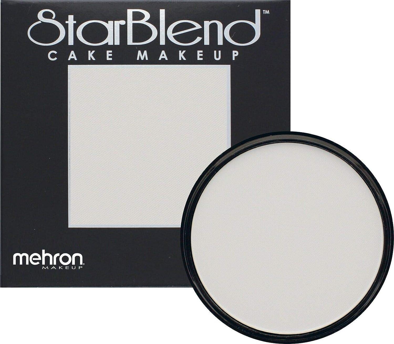 Mehron Makeup StarBlend Cake (2 oz) (Moonlight White)