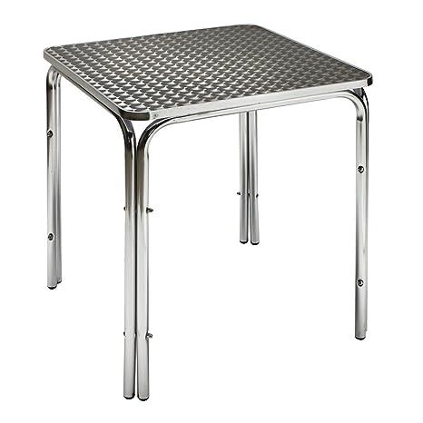 Tavoli Da Giardino In Alluminio Amazon.Dema Tavolo Da Giardino In Alluminio Twin 600 Amazon It Giardino E
