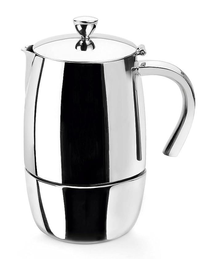 Lacor Luxe Cafetera 10 Tazas, Plata: Amazon.es: Hogar