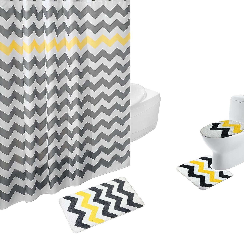 ip walmart set bathroom nylon rug com stripe home solid bath piece mohawk