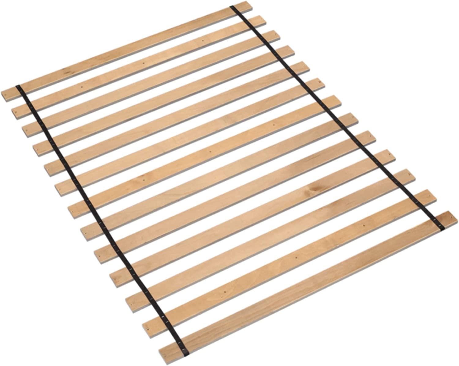Ashley Furniture Signature Design - Frames and Rails Roll Slats - King Size - Component Piece - Contemporary Living - Brown