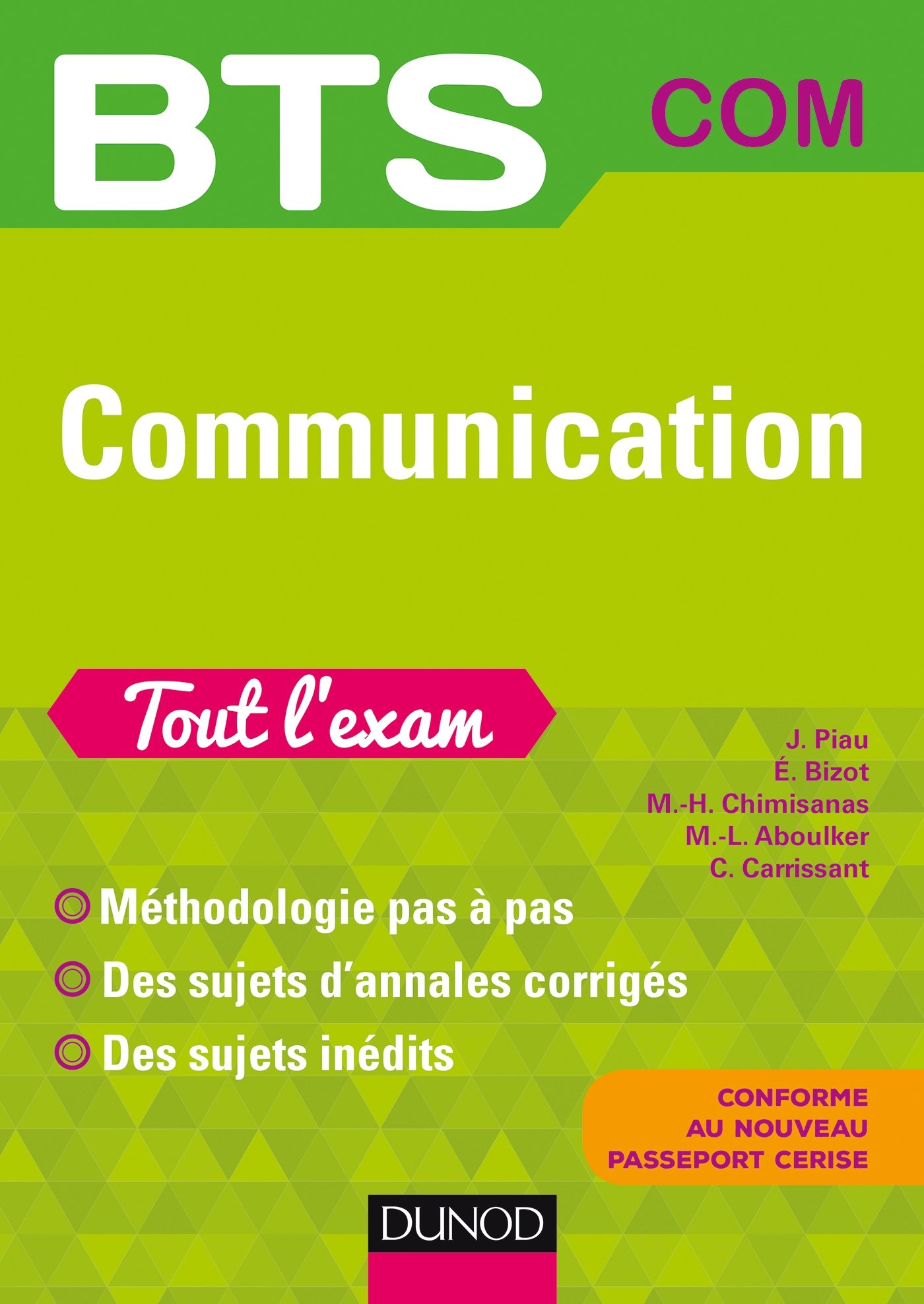 BTS Communication (French) Paperback – August 31, 2016