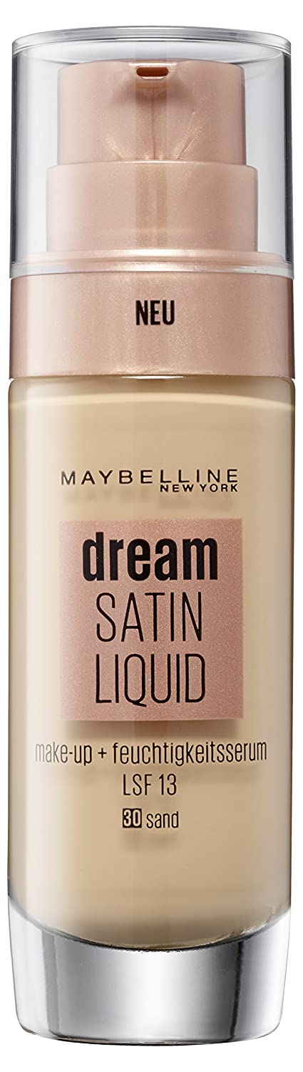 Maybelline New York Make Up Dream Satin Liquid 30 Sand, 30 ML B30461