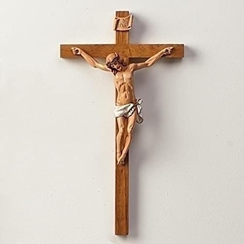 Fontanini 15 Religious Wooden Crucifix Wall Cross 0251