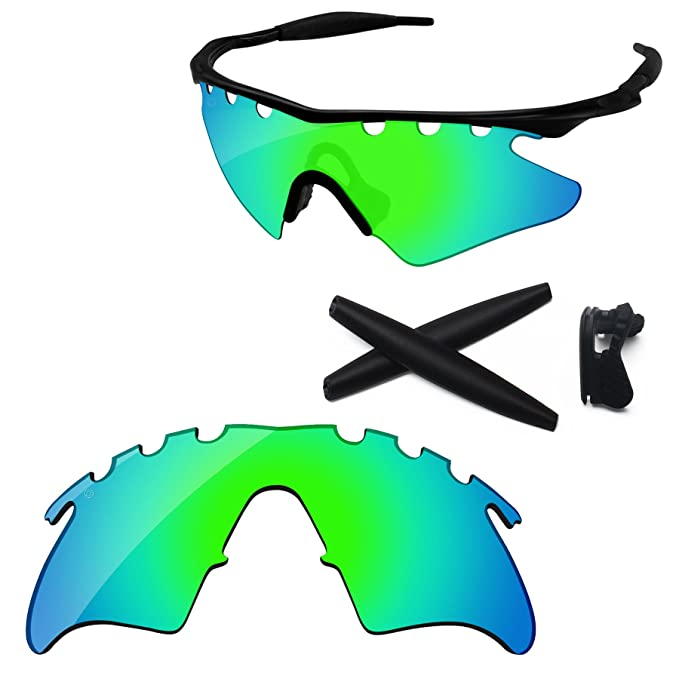 Amazon.com: PapaViva Replacement Lenses & Rubber Kits for Oakley M ...