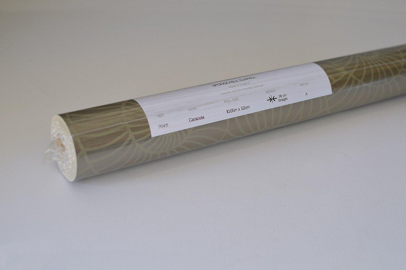 10.05 m x 52 cm Texturas por Alexandra Celosia Papel Pintado Dorado Negro