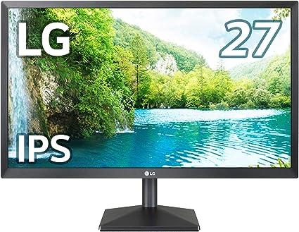 【Amazon.co.jp 限定】LG モニター ディスプレイ 27EA430V-B 27インチ/フルHD/IPS 非光沢/HDMI,DVI,D-Sub/FreeSync対応/フリッカーセーフ、ブルーライト低減機能