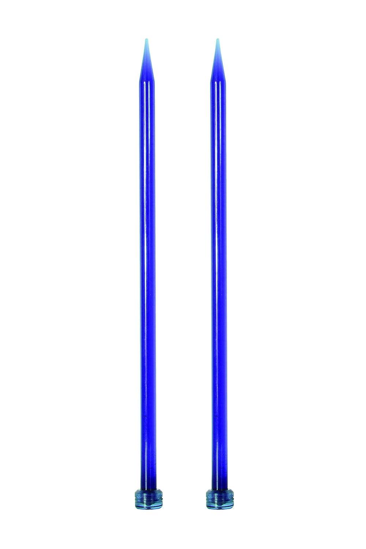Multicolore Multi-Couleur Bois KnitPro KP51211 Knit Pro 35 cm x 5 mm Aiguilles Simple Pointes