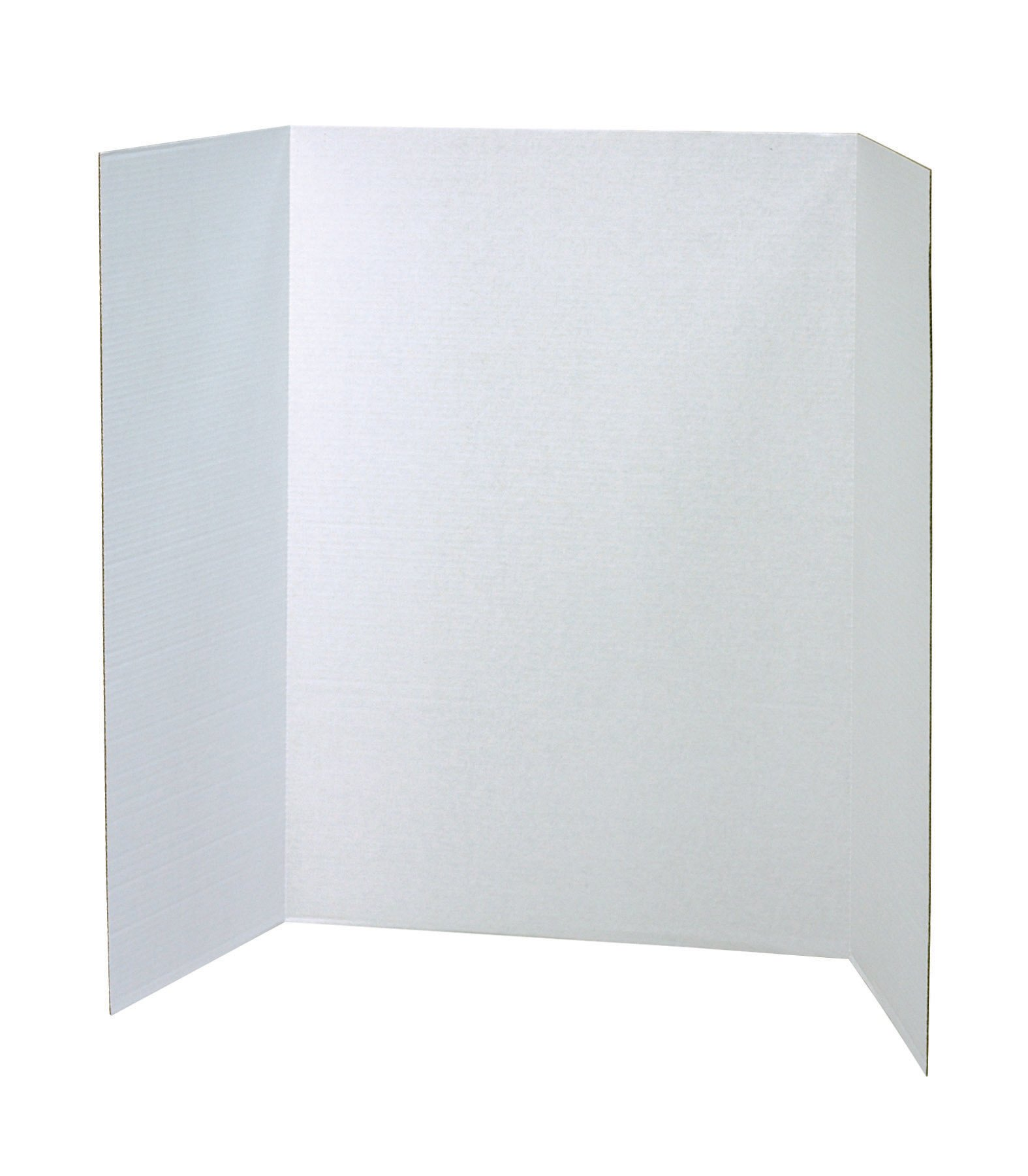 Pacon Presentation Board Presentation Display Booth, White, 40x28-Inches (37744)