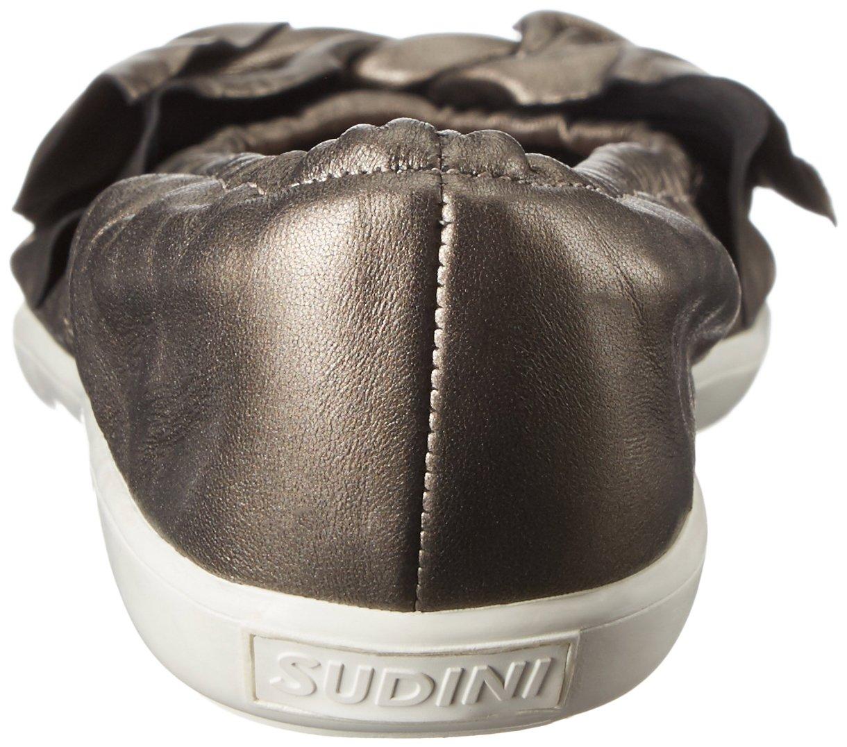 Sudini Women's Olga Flat B01HOY9Y5Q 10 B(M) US|Gunmetal
