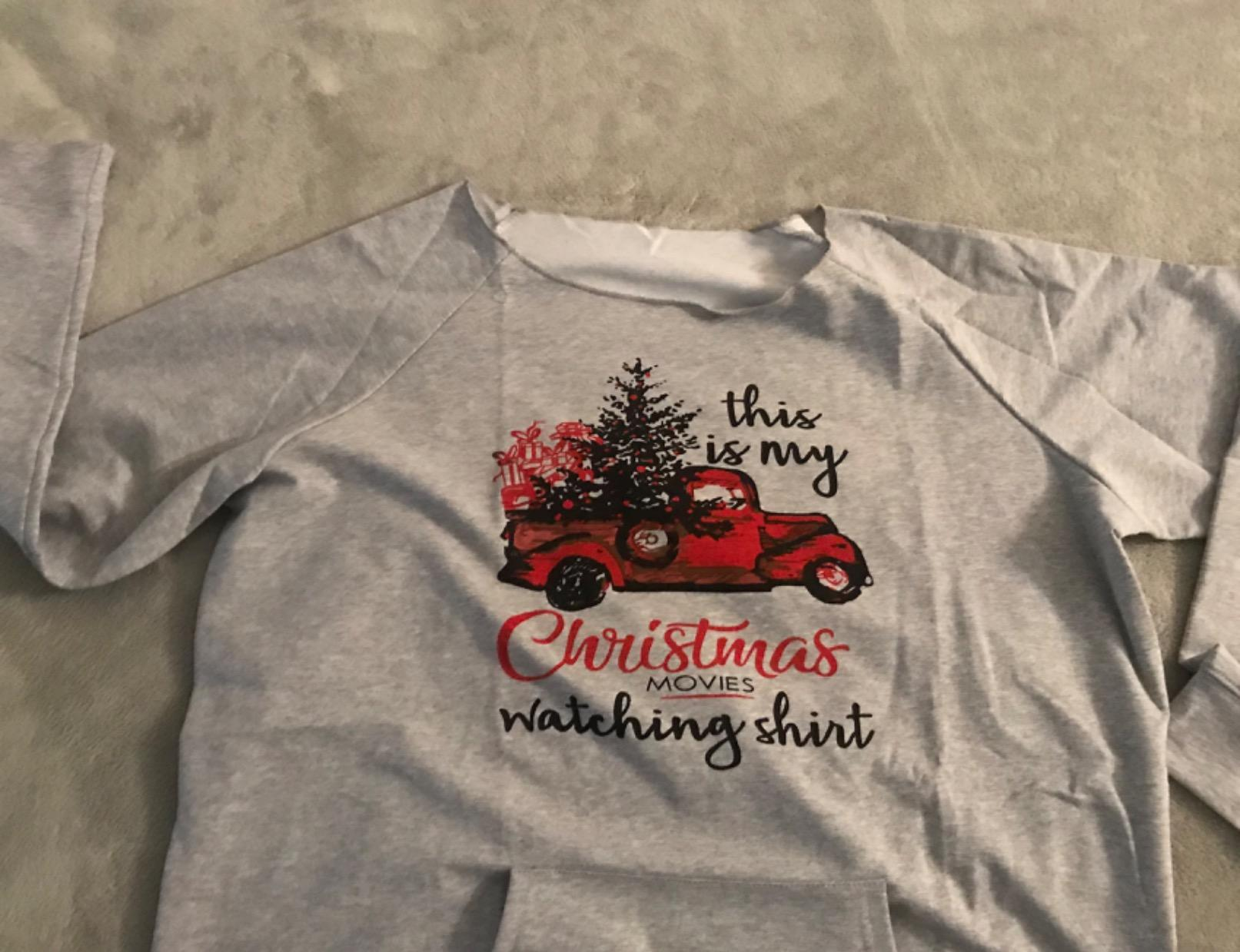 Best Seattle Seahawks This Is My Hallmark Christmas Movies Watching Shirt photo review