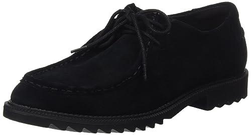 Griffin Mellow, Zapatos de Vestir para Mujer, Negro (Black SDE), 39 EU Clarks