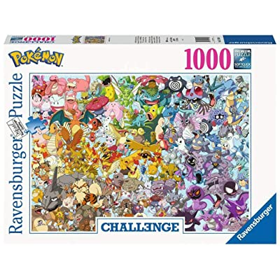 Ravensburger 15166 Pokemon 1000pc Challenge Jigsaw Puzzle,: Toys & Games