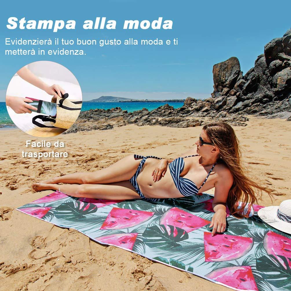 VBIGER Telo Mare Asciugamani Mare Abbigliamento da Mare Telo Mare Donna Bikini Coprire (Anguria)