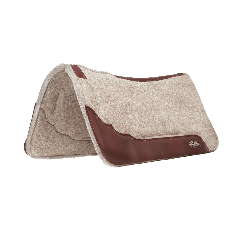 Weaver Leather Synergy Contoured Wool Blend Felt Performance Saddle Pad