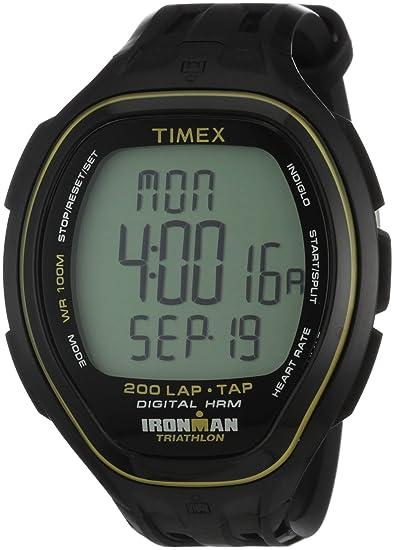 Timex T5K545 - Reloj digital de cuarzo para hombre con correa de ...