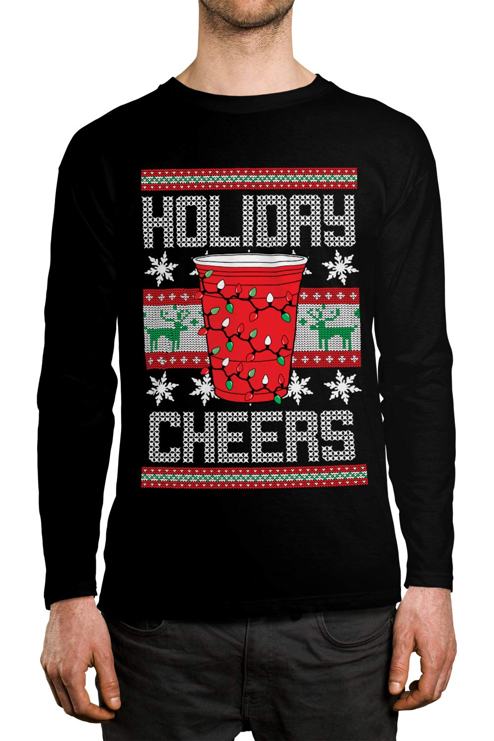 Apparel Holiday Cheers Red Cup Unisex Shirt