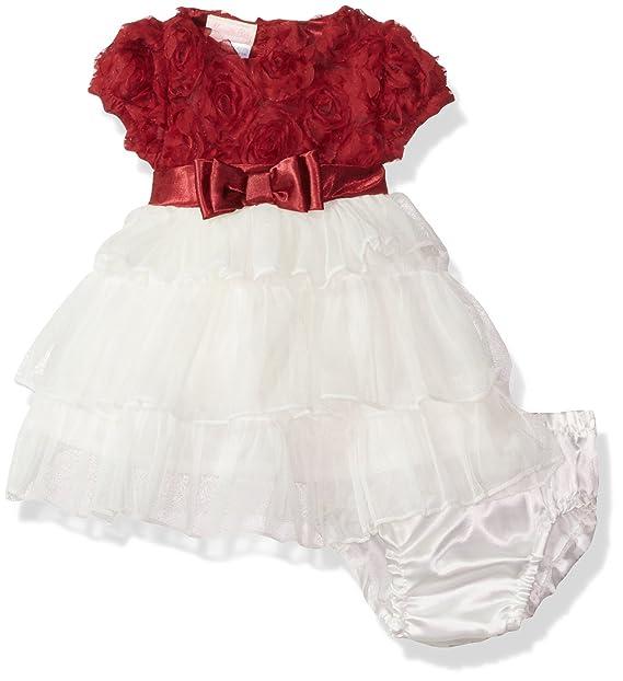 Amazon.com: Nannette Baby-Girls infantil de 2 piezas Chifón ...