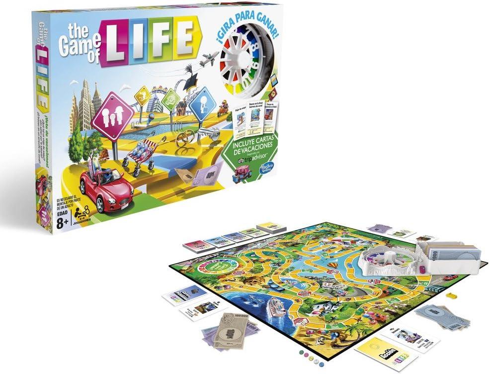 Hasbro Gaming- Hasbro Game of Life, Multicolor (C0161105): Amazon.es: Juguetes y juegos