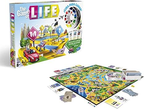 Hasbro Gaming- Hasbro Game of Life, Multicolor (C0161105): Amazon ...