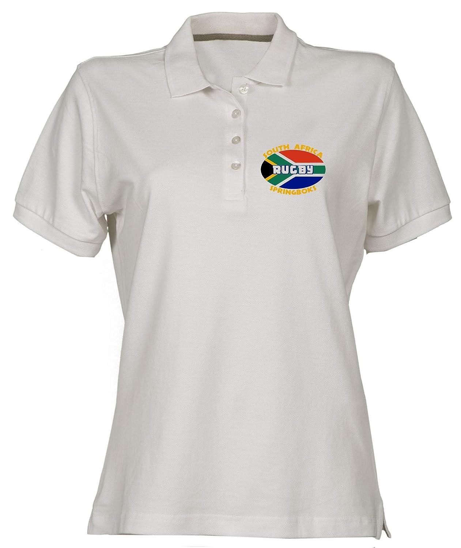 Polo para Mujer Blanco TSTEM0091 South Africa: Amazon.es: Ropa y ...