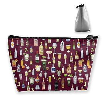 Amazon.com  Various Wines Cosmetic Bag Travel Makeup Bag