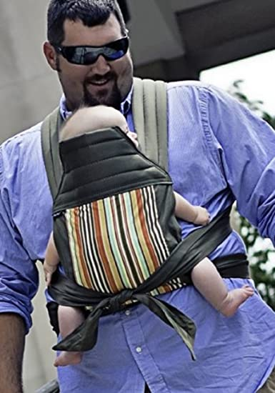 890269fec28 Amazon.com   BabyHawk Mei Tai Baby Carrier - Olive Stripe on Olive Straps   Child  Carrier Front Packs   Baby