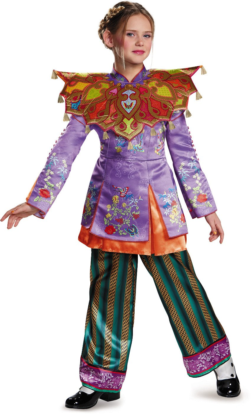 Alice Asian Look Prestige Alice Through The Looking Glass Movie Disney Costume, Large/10-12