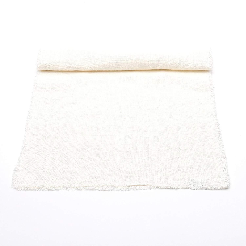 (45 x 275 cm) - LinenMe 45 x 275 cm Runner Off Linen, Rustic White 18\  B00EJL6X8Y