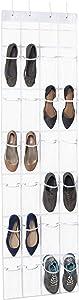 Over The Door Clear Shoe Organizer/Storage Rack