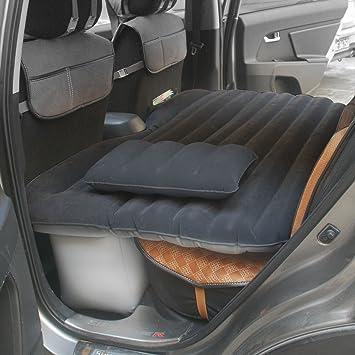 Coche colchón inflable cama hinchable para viajes asiento trasero ...